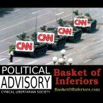 Basket Of Inferiors 0006: CNN, the Clown News Network. #FakeNews #FraudNewsCNN #CNNBlackmail